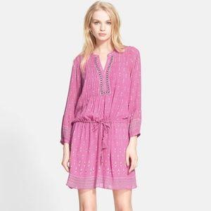 Joie Suerte Printed Silk Dress Sz XS